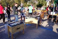 Participación del CAJON ASADOR en prueba ciclista de Málaga.